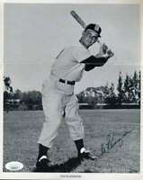 Ted Kluszewski JSA Coa Hand Signed 8x10 1960`s Photo Autograph