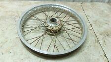 75 76 Suzuki RE5 RE 5 Rotary Wankel front wheel rim straight