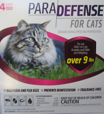 Cat Flea Treatment by Para Defense - Over 9 lbs - Topical - 4 Month Supply