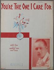 1930 You'Re The One I Care For Link & Grey Bert Lown Biltmore Hotel Orchestra