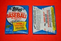 VINTAGE UNOPENED 1983 TOPPS WAX PACK BLOWOUT!!! - GWYNN & SANDBERG RC
