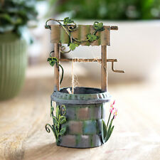 Magic Wishing Well Secret Fairy Garden Ornament House Decorations Accessories