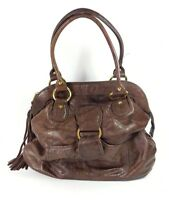 Twiggy large brown leather handbag 39cm x 35cm