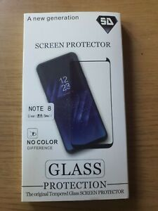 Samsung Galaxy Note 8 Genuine Tempered Glass Screen Protector  3 pack