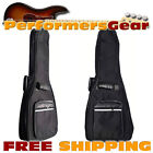 """Perfektion Deluxe Heavy Duty 34""""-36"""" Acou / Elec Guitar 10mm Padded Gig Bag NEW"""