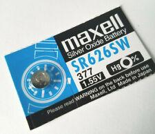 Watch battery SR626SW, 377, 1.55V