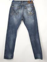 Roy Rogers Hommes Slim Jeans Jambe Droite Taille W33 L36 (47) BDZ467