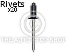 Remaches Uñas 2,9 Uso Con Asiento sujetadores 5mm Renault Megane Cc Etc 20PK 4077re