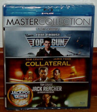 TOP GUN COLLATERAL JACK REACHER CASTELLANO 3 BLU-RAY NUEVO ACCION (SIN ABRIR) R2