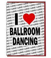 Greeting Card - Birthday Card - I Love Ballroom Dancing