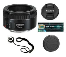 Sale 50mm Canon Ef 50 f/1.8 Stm Lens 013803256871 original box + Free Cap Keeper