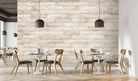 3D Retro Backsteinmauer 2 Textur Fliese Marmor Tapete Abziehbild Tapete Wandbild