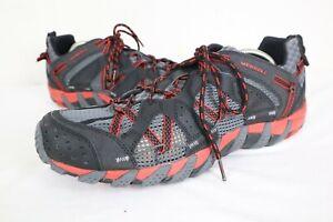 Merrell Waterpro Maipo Black/Red J65231 Men's Trekking Shoes sz 11