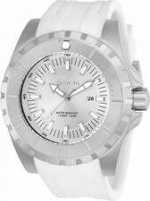 Invicta Pro Diver 23739 Men's Round Analog Date Silver Tone & White Watch