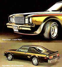 1978 DODGE ASPEN BROCHURE -ASPEN SUPER COUPE-ASPEN R/T COUPE-2D-4D-SW