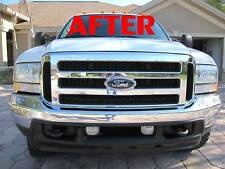 05 06 F250 F350 OEM GRILLE CONVERSION FITS 99 TO 04 ALL OEM DIRECT FORD PARTS!