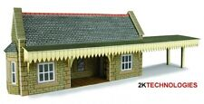 Metcalfe PN139 Wayside Station Shelter Stone Die Cut Card Kit N Gauge - 1st Post