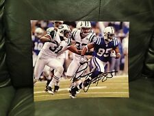 PIERRE GARCON SIGNED AUTO 8X10 PHOTO FOOTBALL INDIANAPOLIS COLTS COA WOW!! 5