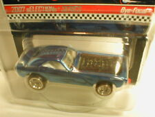 2007 Hotwheels RLC redline club Selections series BYE-FOCAL blue with flames RR