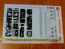 "Microscale Decal #87-1474 EMD Leasing (EMDX) SOO Line(SOU) Ex Milwaukee ""Bandit"""