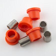Classic Mini Polyflex Lower Arm Bush Kit Orange rover austin bottom uprated