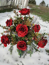 Sweetest Day Grave Cemetery Tombstone Urn Vase Headstone Memorial Day Flowers