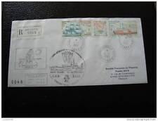 TAAF lettre 1/1/90 - timbre aérien yt n°113A (cy4)