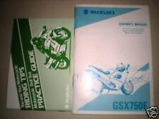 NOS Suzuki 1997 GSX750FS Owners Manual