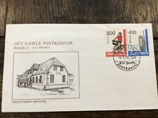 Stamps Denmark 🇩🇰 Fdc #854-855 Europa bicycle transportation 1988