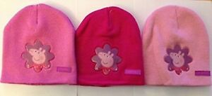 Peppa Pig Beanie - Assorted Pink Colours Knitted Beanie Hat