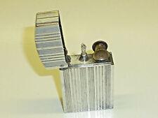 ATOMY (ALUVAC) FRENCH NOVELTY POCKET PETROL WICK ALUMINIUM LIGHTER - 1940 - NICE