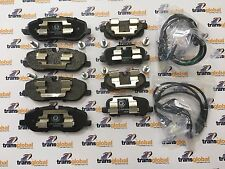 Land Rover Discovery 3 TDV6 Front & Rear Brake Pads with Sensors & Fitting kit