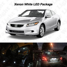 14 x White LED Interior Bulbs + Reverse + Tag Lights For 2003-2012 Accord COUPE