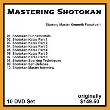 Kenneth Funakoshi's Mastering Shotokan Karate Series (10 DVD Set)
