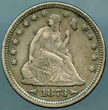 1873 Seated Quarter Arrows