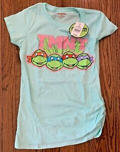 Nickelodeon Girl's Top-Teenage Mutant Ninja Turtles-Size L-NWT