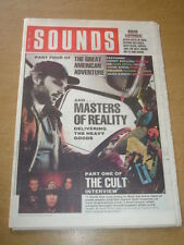SOUNDS 1989 APRIL 8 MASTER GOOGE CULT SIMPLE MINDS HAPPY MONDAYS SOUL ASYLUM
