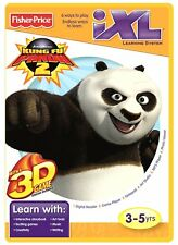 Fisher-Price iXL Learning System Software Kung Fu Panda 3D NEW 3-7 Years