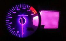 PURPLE SUZUKI GSXR K5 k6 k7 LED CLOCK KIT LIGHTENUPGRADE MORE COLOURS AVAILBALE