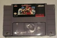 Super High Impact Football Super Nintendo SNES Video Game Tested And Resealed