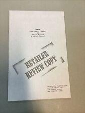 Turok The Empty Souls Retailer Review Copy Valiant Comics 1996 Fabian Nicieza