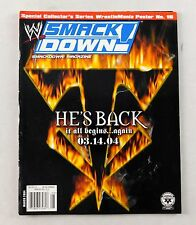 Undertaker March 2004 Eddie WWE WWF Smackdown Wrestling Magazine RAW Lucha Libre