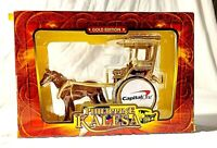 Philippine Kalesa Die Cast Metal Horse Drawn Carriage Calash Gold Edition 8002