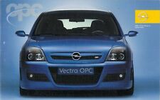 Opel Vectra OPC 2006-07 German Market Foldout Sales Brochure