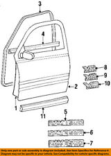 Dodge CHRYSLER OEM 94-99 Ram 1500 FRONT DOOR-Body Side Molding Left 55274895