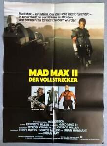 """MAD MAX II Der Vollstrecker"" - Mel Gibson - Original Kinoplakat Filmplakat A1"
