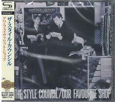 THE STYLE COUNCIL-OUR FAVOURITE SHOP-JAPAN SHM-CD D50