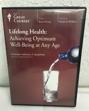 The Great Courses Lifelong Health Achieving Optimal Well-Being 6 DVD Set (New)