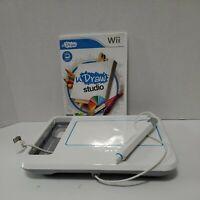 Wii U Draw Studio & U Draw Pictionary With Pen And Board Bundle
