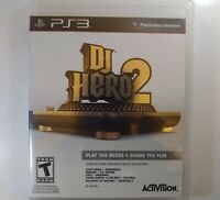 DJ Hero 2 - Playstation 3 PS3 Game Only Used FREE SHIPPING